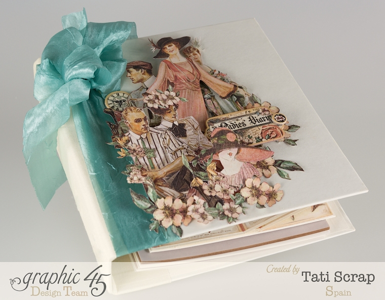 Tati, A Ladies Diary, Mixed Media Album, Product by Graphic 45, Photo 1