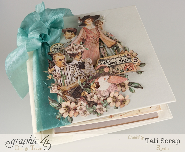 Tati, A Ladies Diary, Mixed Media Album, Product by Graphic 45, Photo 2