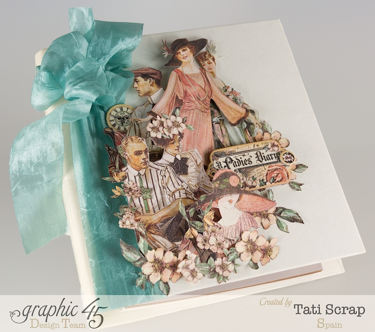 Tati, A Ladies Diary, Mixed Media Album, Product by Graphic 45, Photo 3
