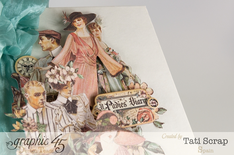 Tati, A Ladies Diary, Mixed Media Album, Product by Graphic 45, Photo 4