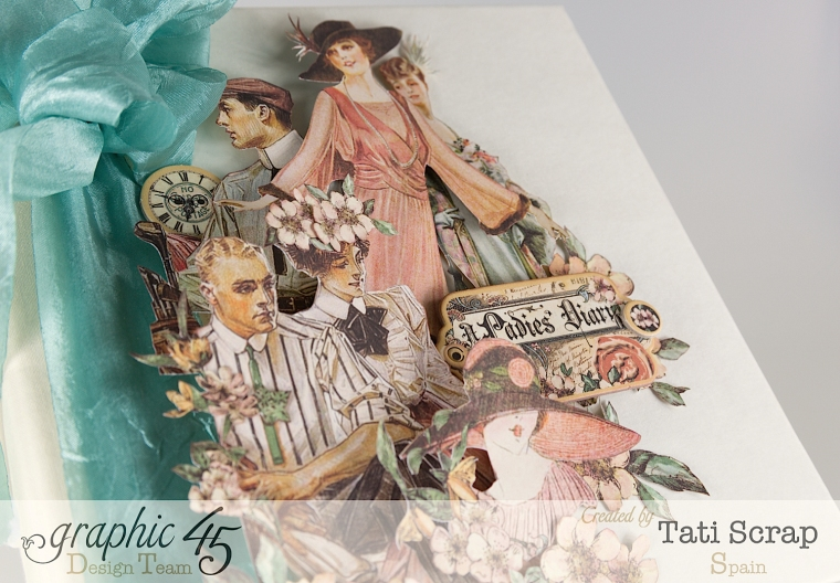 Tati, A Ladies Diary, Mixed Media Album, Product by Graphic 45, Photo 5