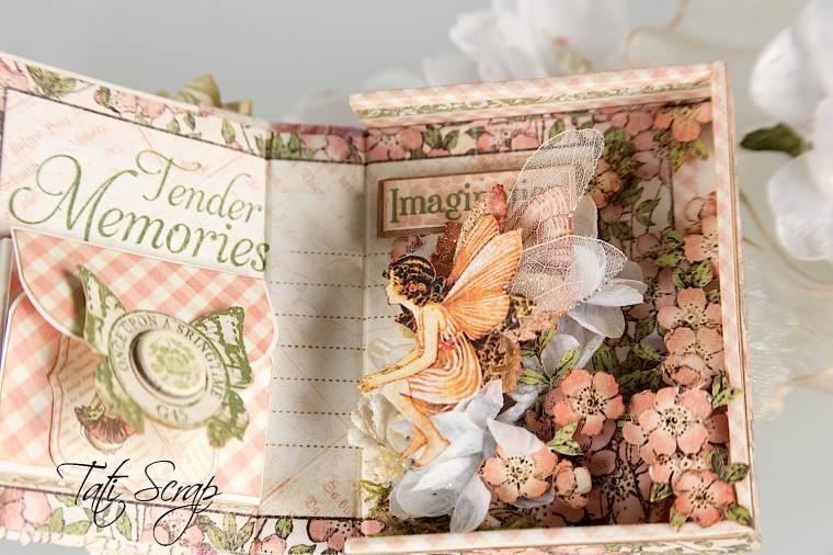 Tati, Tooth Fairy Box, Once Upon a Springtime, Product by Graphic 45, Photo 10