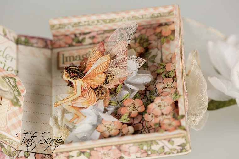 Tati, Tooth Fairy Box, Once Upon a Springtime, Product by Graphic 45, Photo 12
