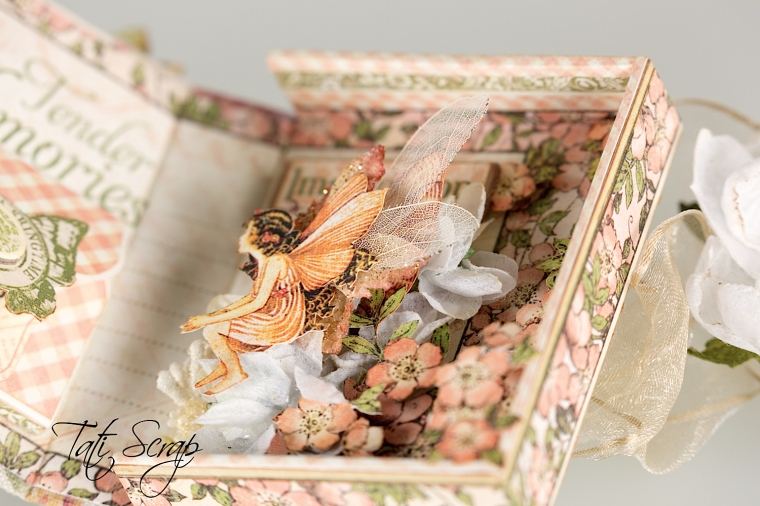 Tati, Tooth Fairy Box, Once Upon a Springtime, Product by Graphic 45, Photo 13