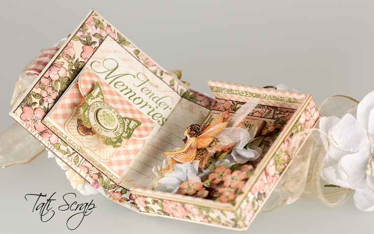 Tati, Tooth Fairy Box, Once Upon a Springtime, Product by Graphic 45, Photo 14