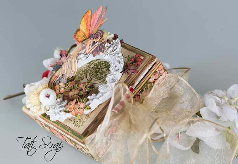 Tati, Tooth Fairy Box, Once Upon a Springtime, Product by Graphic 45, Photo 3