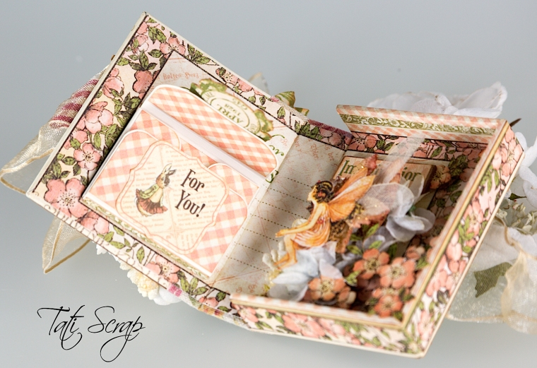 Tati, Tooth Fairy Box, Once Upon a Springtime, Product by Graphic 45, Photo 9
