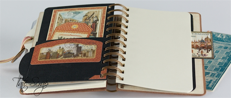 Tati, Traveller Smash Book, City Scapes, Product By Graphic 45, Photo 17