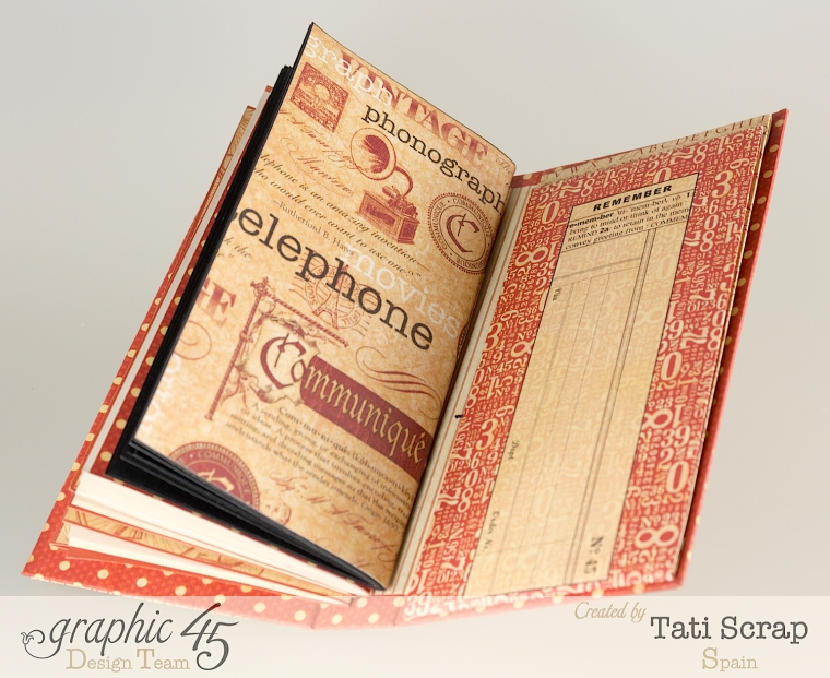 Tati, Book, DIY Craft Paper, product by Graphic 45, photo 10