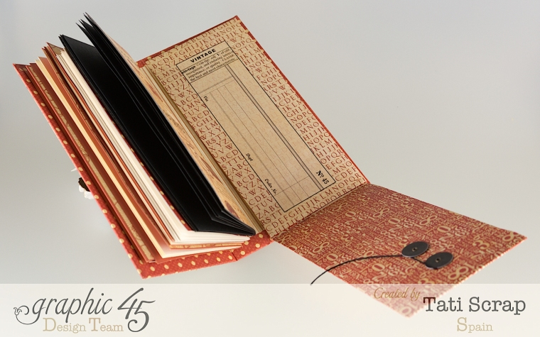 Tati, Book, DIY Craft Paper, product by Graphic 45, photo 11