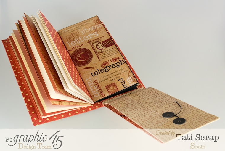 Tati, Book, DIY Craft Paper, product by Graphic 45, photo 12