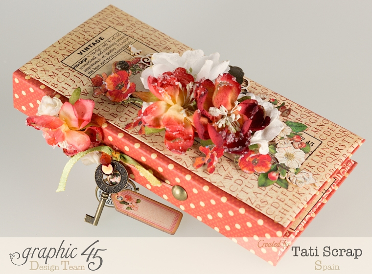 Tati, Book, DIY Craft Paper, product by Graphic 45, photo 2