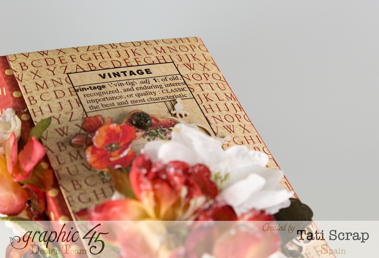 Tati, Book, DIY Craft Paper, product by Graphic 45, photo 5