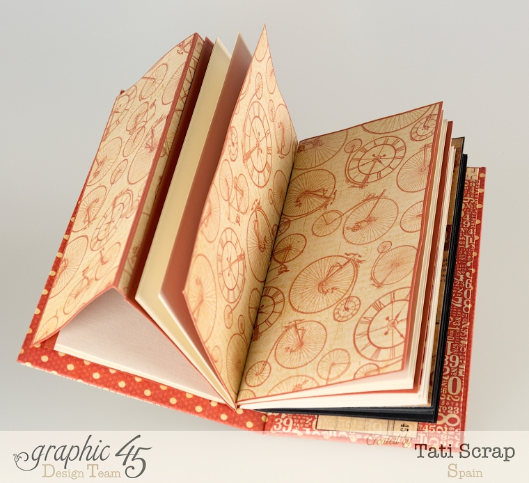 Tati, Book, DIY Craft Paper, product by Graphic 45, photo 8