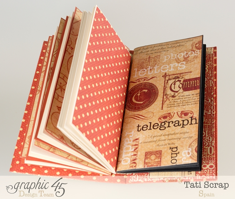 Tati, Book, DIY Craft Paper, product by Graphic 45, photo 9