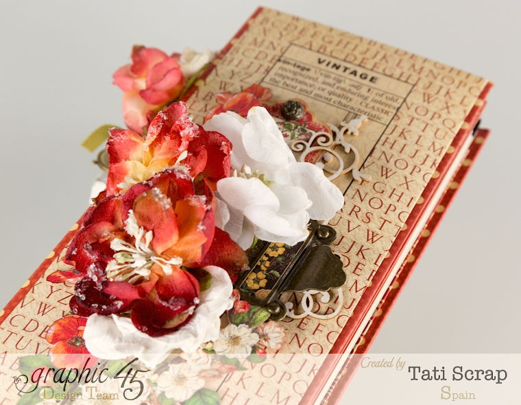 Tati, Book,DIY Craft Paper, product by Graphic 45, photo 4