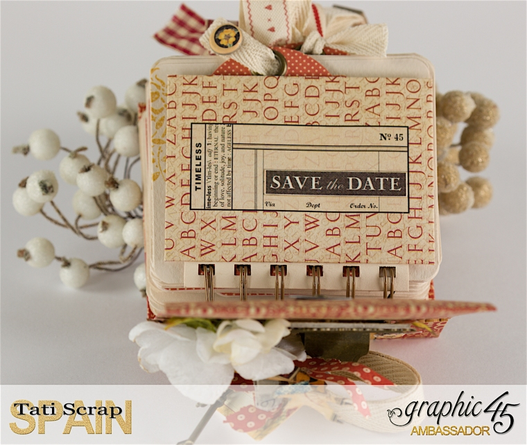 Tati, Save The Date, New Staples, Product by Graphic 45, Photo 10