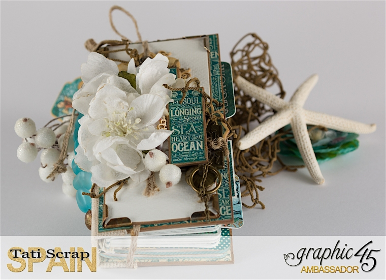 Tati, Voyage Beneath the Sea Book, Product by Graphic 45, Photo 1