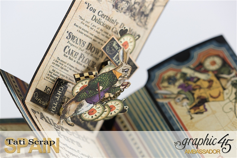 Tati, Hallowe'en in Wonderland., Magical Book, Product by Graphic 45, photo 22