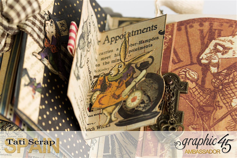 Halloween In Wonderland Album More With Graphic 45 Graphic 45