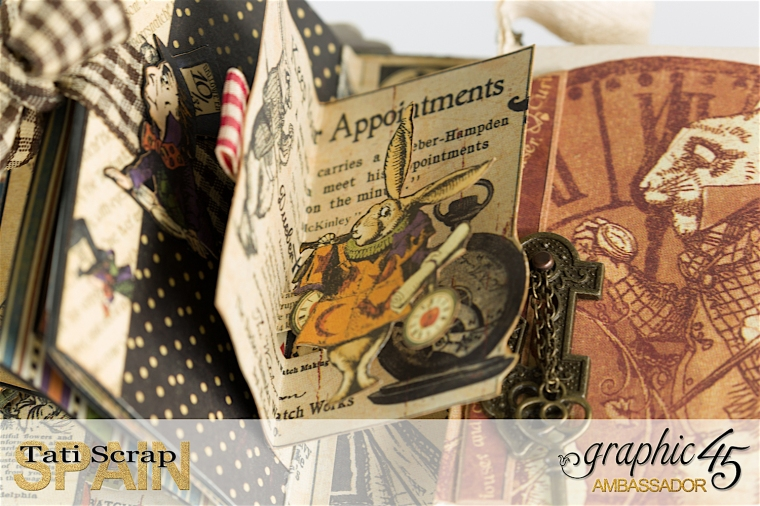 Tati, Hallowe'en in Wonderland., Magical Book, Product by Graphic 45, photo 27
