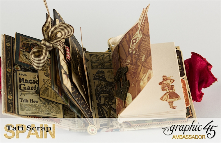 Tati, Hallowe'en in Wonderland., Magical Book, Graphic Product by 45, 29-3 photo