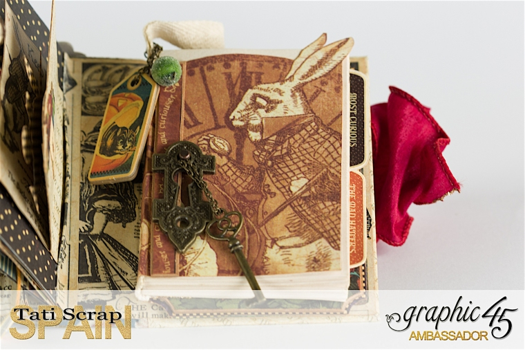 Tati, Hallowe'en in Wonderland., Magical Book, Product by Graphic 45, photo 29