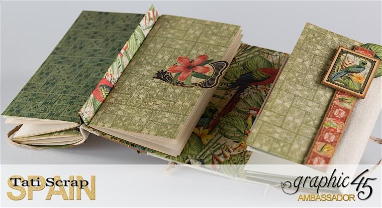 Tati, Safari Adventure Book, Product by Graphic 45, Photo 12