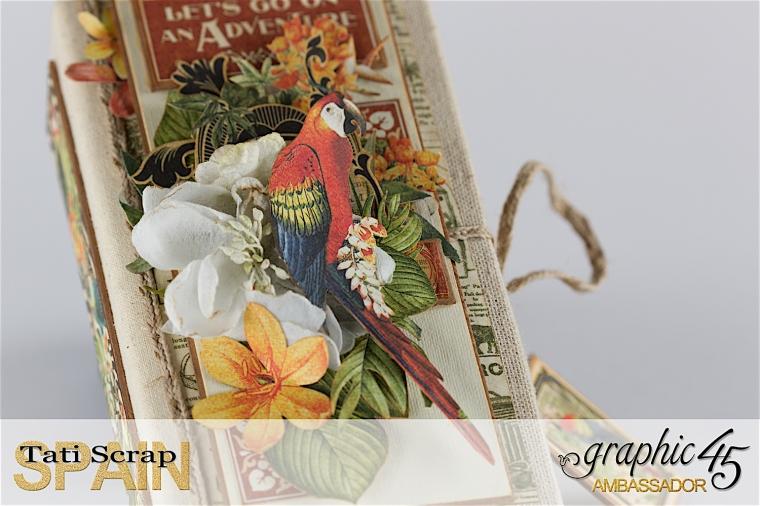 Tati, Safari Adventure Book, Product by Graphic 45, Photo 3