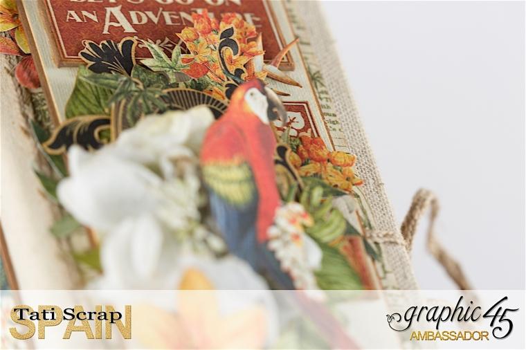 Tati, Safari Adventure Book, Product by Graphic 45, Photo 5