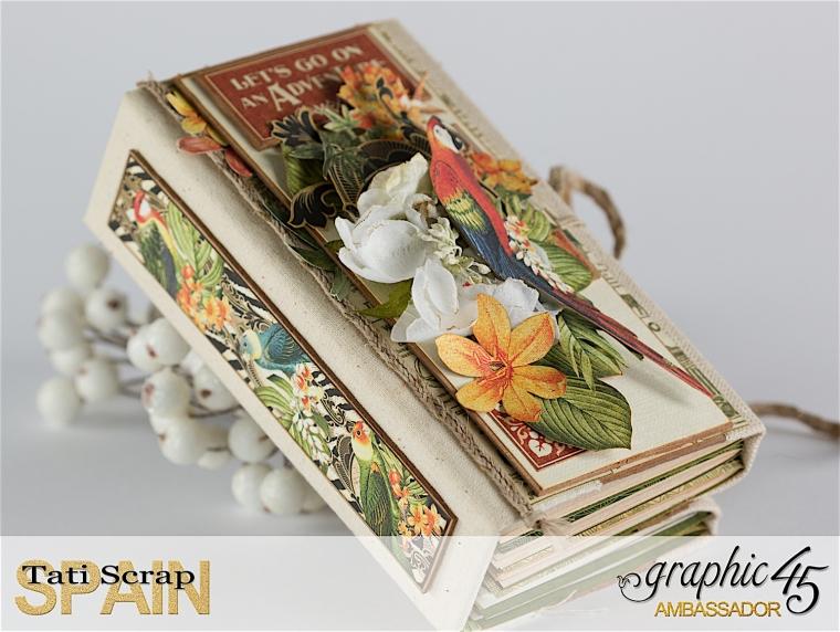 Tati, Safari Adventure Book, Product by Graphic 45, Photo 6