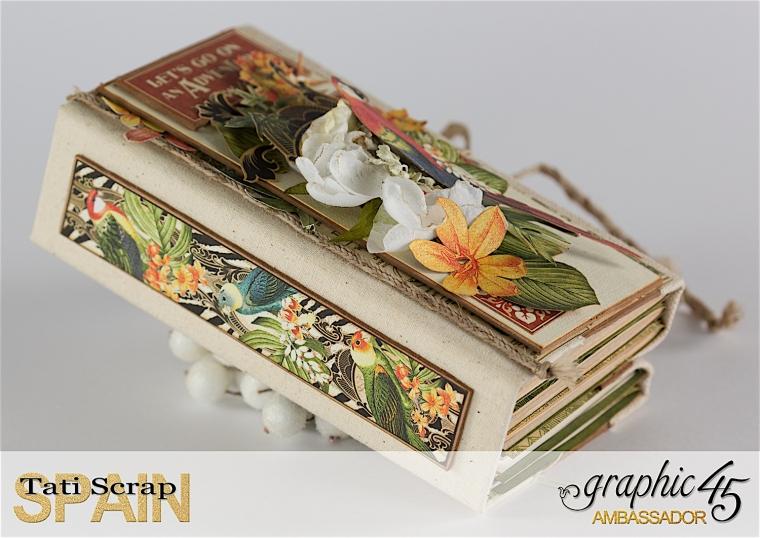 Tati, Safari Adventure Book, Product by Graphic 45, Photo 7