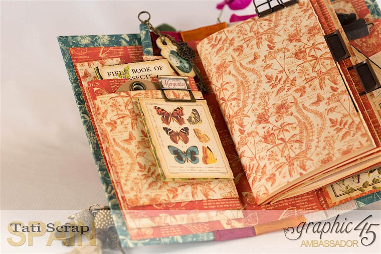 Tati, 2017 Autumn Book,Nature Sketchbook pattern & solid papers, Product by Graphic 45, Photo 9