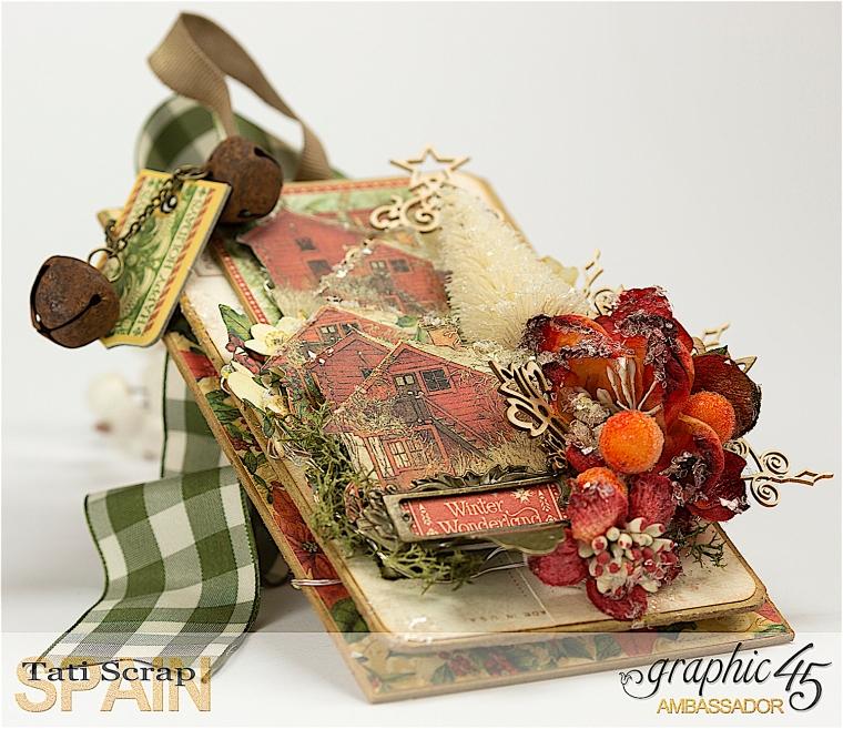 Tati, Christmas Decor, Winter Wonderland, Product by Graphic 45, Photo 2