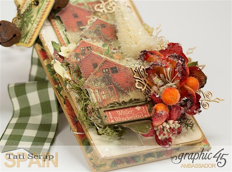 Tati, Christmas Decor, Winter Wonderland, Product by Graphic 45, Photo 3