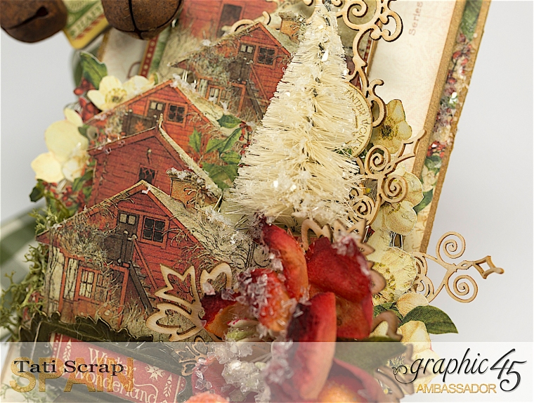 Tati, Christmas Decor, Winter Wonderland, Product by Graphic 45, Photo 9