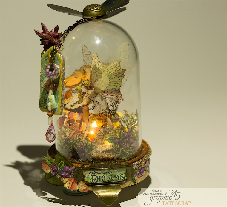Tati, Fairie Dust, Bell Jar, Product by Graphic 45, Photo 1
