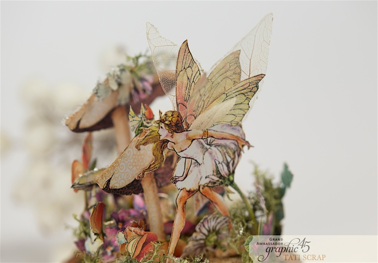 Tati, Fairie Dust, Bell Jar, Product by Graphic 45, Photo 10