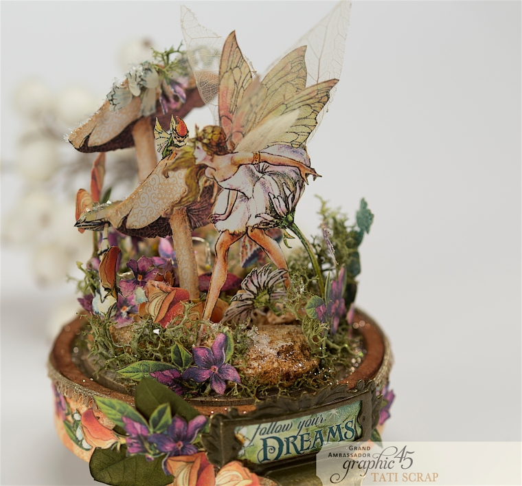 Tati, Fairie Dust, Bell Jar, Product by Graphic 45, Photo 11