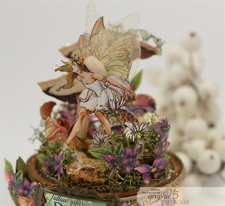 Tati, Fairie Dust, Bell Jar, Product by Graphic 45, Photo 12