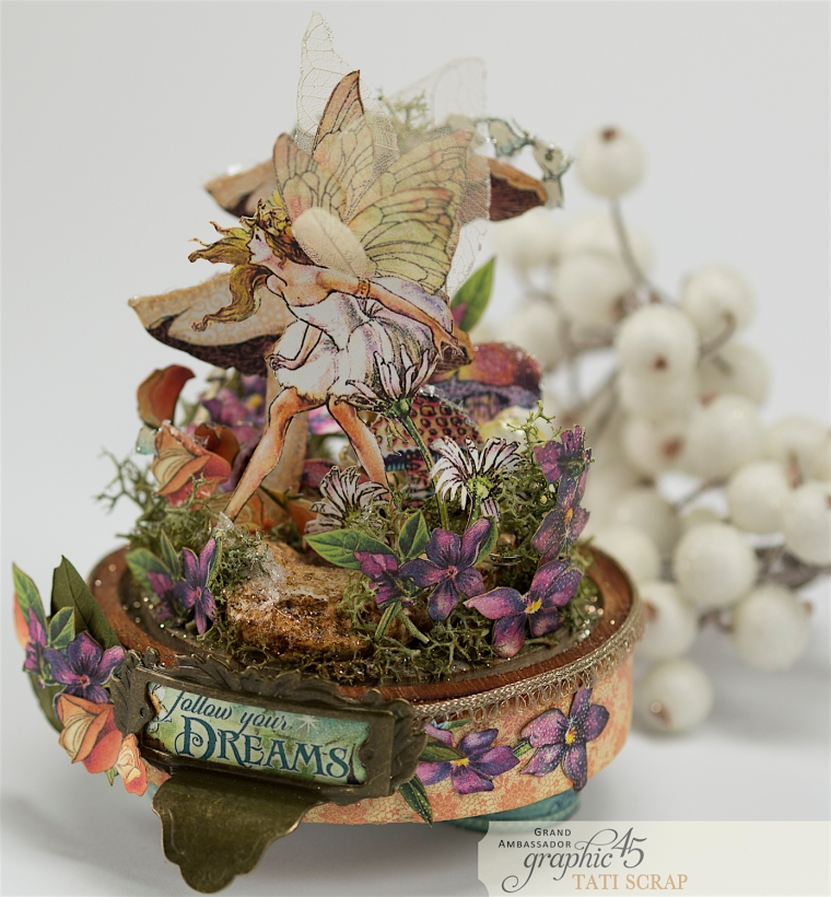 Tati, Fairie Dust, Bell Jar, Product by Graphic 45, Photo 13