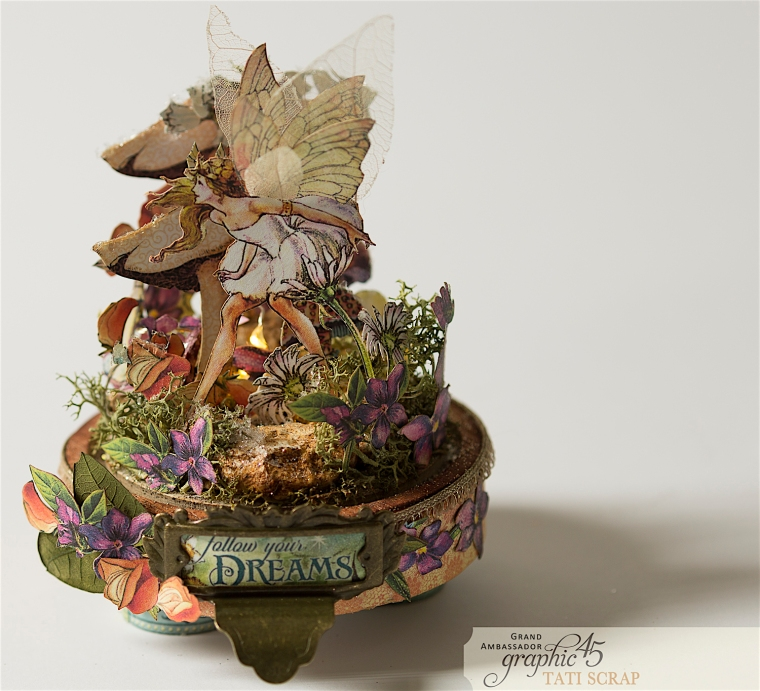 Tati, Fairie Dust, Bell Jar, Product by Graphic 45, Photo 14