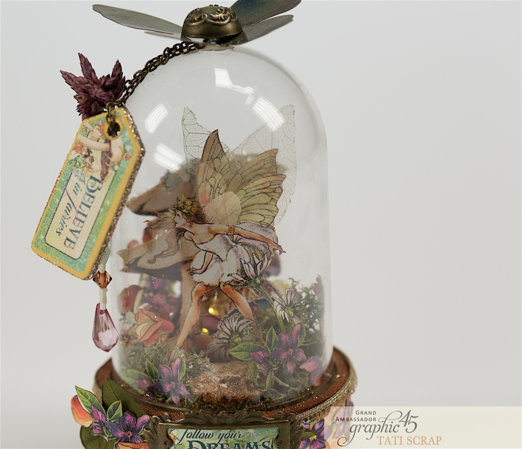 Tati, Fairie Dust, Bell Jar, Product by Graphic 45, Photo 15