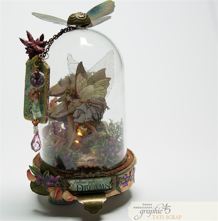 Tati, Fairie Dust, Bell Jar, Product by Graphic 45, Photo 2