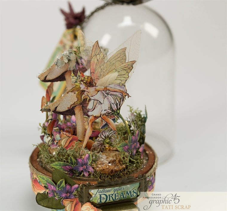 Tati, Fairie Dust, Bell Jar, Product by Graphic 45, Photo 3