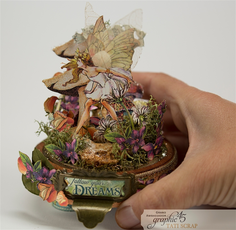 Tati, Fairie Dust, Bell Jar, Product by Graphic 45, Photo 4
