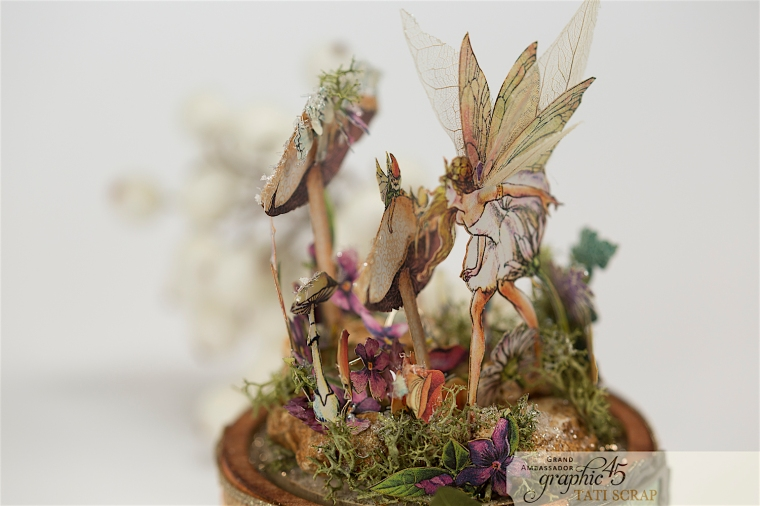 Tati, Fairie Dust, Bell Jar, Product by Graphic 45, Photo 8