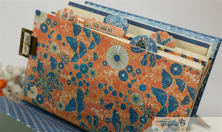 Tati, Sun Kissed Mini Album, Product by Graphic45, Photo 11