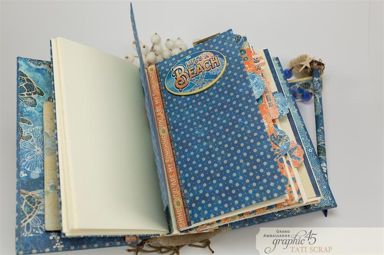 Tati, Sun Kissed Mini Album, Product by Graphic45, Photo 9