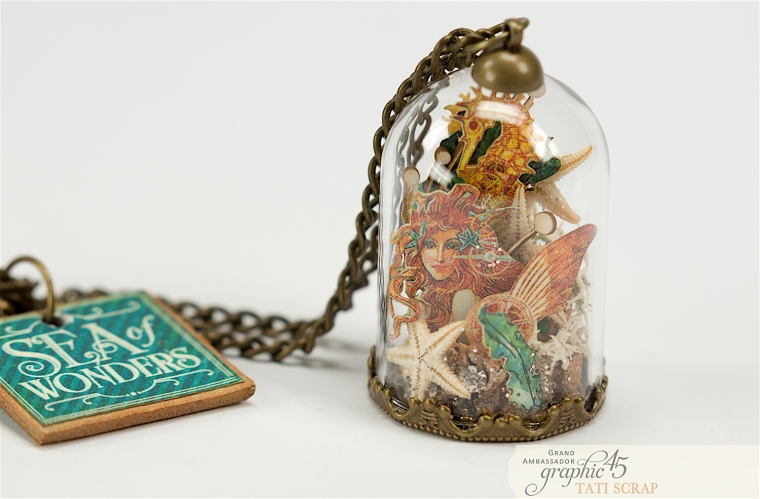 Tati,Magic of the Sea in a Glass Dome, Voyage Beneath the Sea, product by Graphic 45, Photo 2